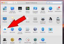 iCloud icon in macOS Sierra
