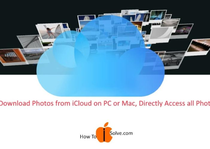 1 Download Photo on Mac or PC from iCloud