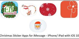 1 Send Sticker in iMessage app on iPhone iPad