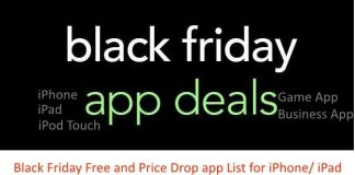 1 Top Black Friday App Deals list for iPhone and iPad