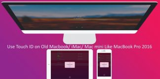 1 Use Touch ID on OLD mac Macbook like macbook pro