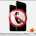 Disable/ Enable Do not disturb on iPhone 7, 7 Plus: iMessage, Call