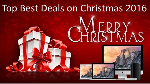 Christmas Deals 2016 on iPhone, iPad, Macbook, iMac