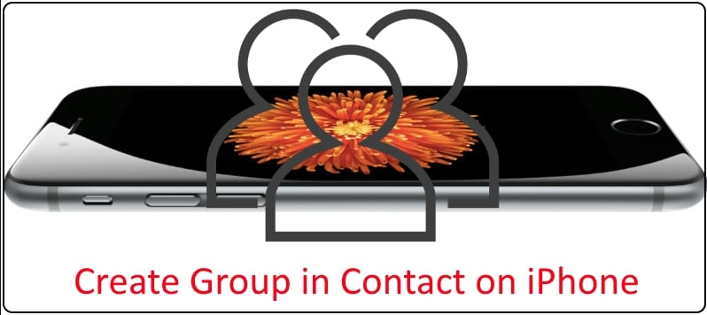 7 Create contact group on iPhone contact app