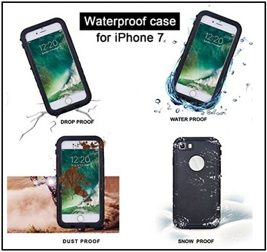 good reviews iPhone 7 Waterproof Case