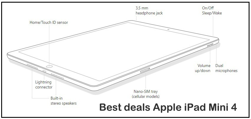 Apple iPad Mini 4 live deals december
