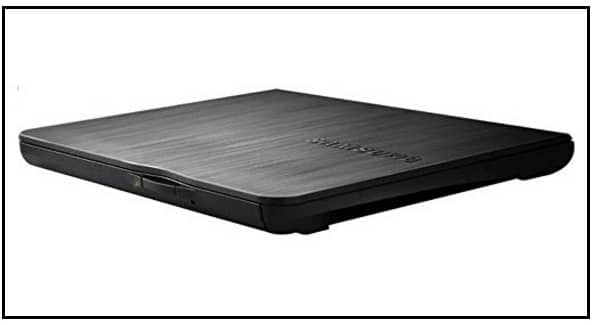 External DVD burner and writer for Apple Mac by Samsung