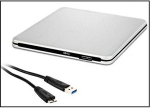 LinGear USB 3.0 Portable external CD/DVD burner
