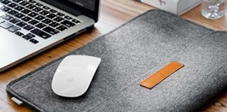 Mosiso Rubber Sleeve case for MacBook pro