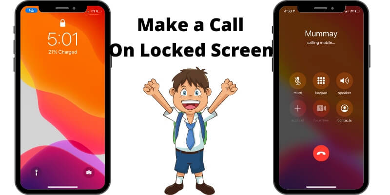 Make a Call Without Lock on iPhone