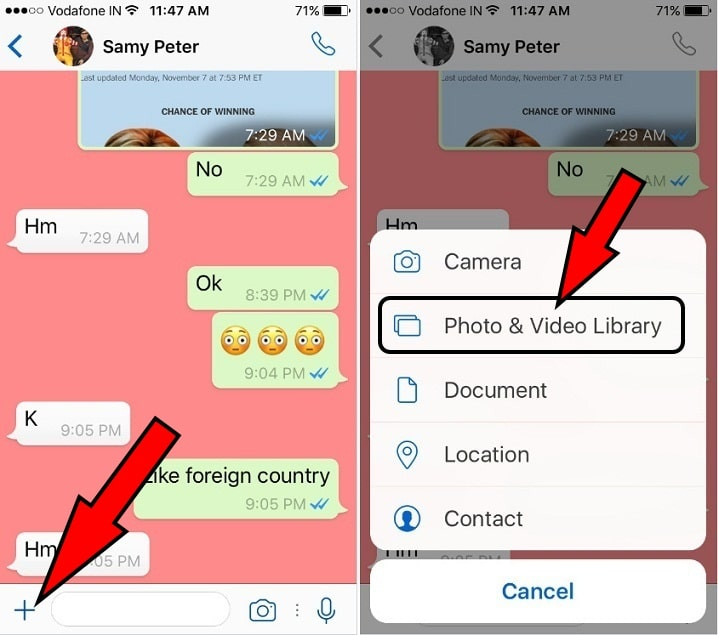 search and Send Animated GIF image