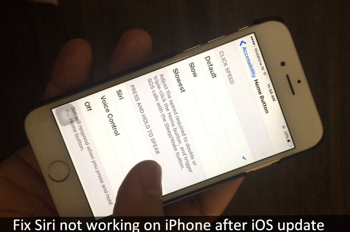 iphone siri not working solved siri not working after ios 11 update on iphone 15459