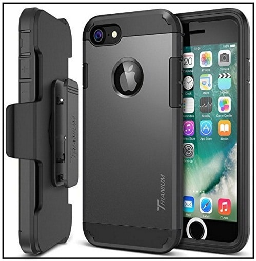 The top iPhone 7 Rock PC + Soft TPU Case good review