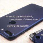 Buy Refurbished iPhone 7/ iPhone 7 Plus, iPhone 8, iPhone 8 Plus: 2018
