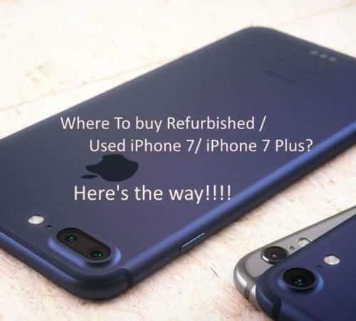 1 Buy Refurbished iPhone 7 and iPhone 7 Plus