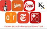 1 Kitchen recipe finder app for iPad and iPhone