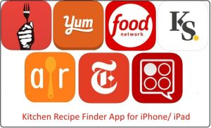 Best kitchen Recipe Finder App For iPad/ iPhone 2018: USA