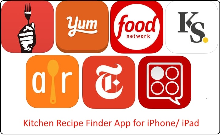 Best kitchen recipe finder app for ipad iphone 2018 usa 1 kitchen recipe finder app for ipad and iphone forumfinder Images