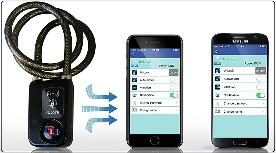 1 Nulock Keyless Bluetooth LOCK for iPhone