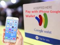 1 pay with Google wallet on iPhone and iPad