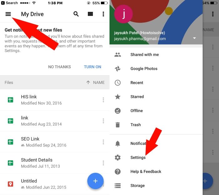 How To Upload Photos From Google Drive To Iphone