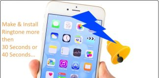 8 Make custome ringtone on iPhone more than 30 seconds