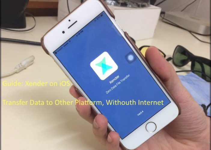 9 Use Xender on iOS device for Send and Receive data to Android mobile