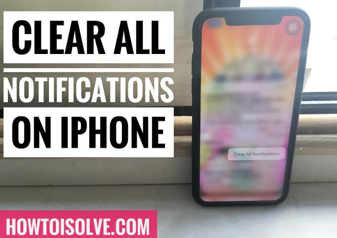 Clear All Notifications on iPhone XS Max, XS, XR, X, 8 Plus, 7 Plus, 6S Plus Using 3D Touch