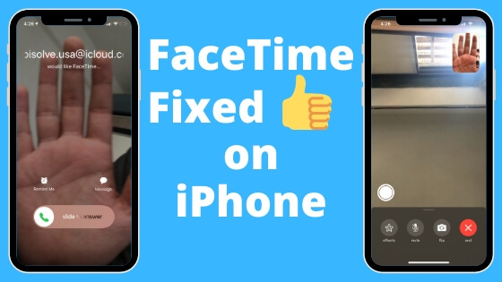 FaceTime Not Working on iPhone
