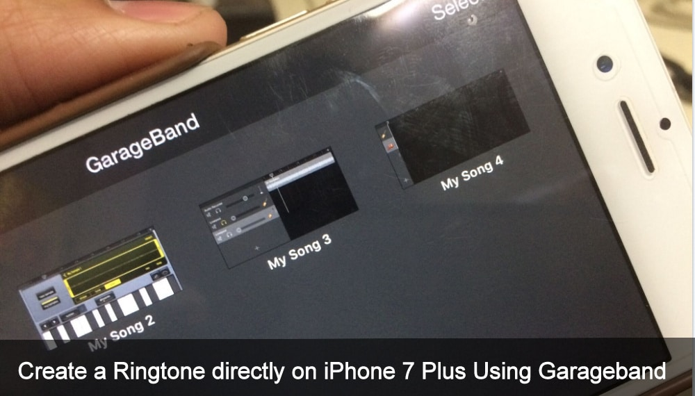 How To Create A Ringtone Directly On Iphone Using Garageband In 2019