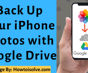 How to Automatically Backup Photo to Google Drive on iPhone