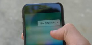 how to Clear All Notifications in iOS 10 on iPhone Using 3D Touch