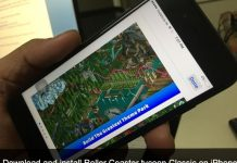 Download and install Roller Coaster tycoon classic on iPhone