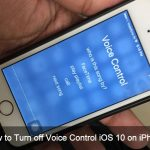 How to Turn off Voice Control on iPhone, iPad, iPod Touch