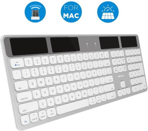 Macally Ultra Slim Wireless Keyboard