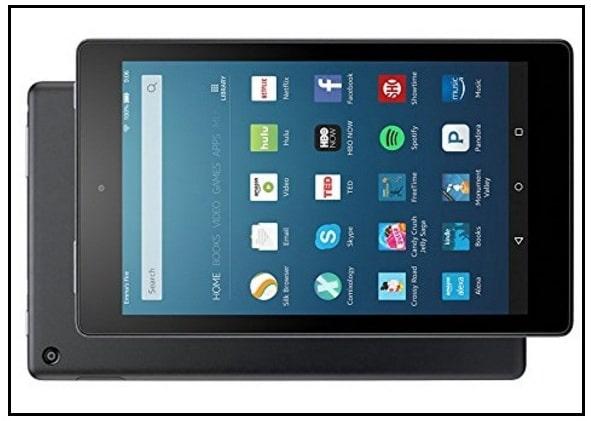 Amazon Fire HD tablet best alternative of Apple iPad
