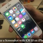 How to Take a Screenshot with iOS 10 on iPhone: [Two Methods]