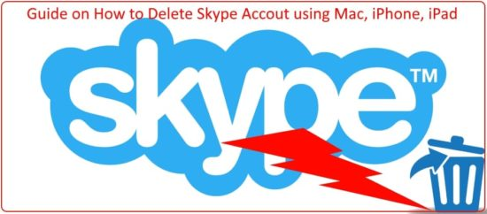 Delete Skype Account step by step (1)