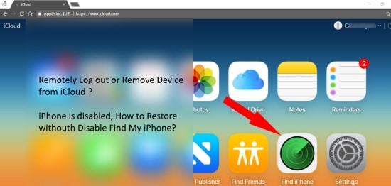 how to deactivate find my iphone disable find my iphone on restore using icloud iphone is 18701