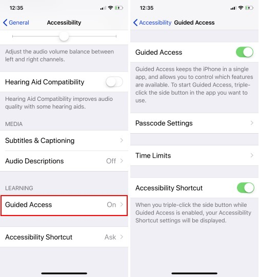 1 Guided Access iPhone time limit