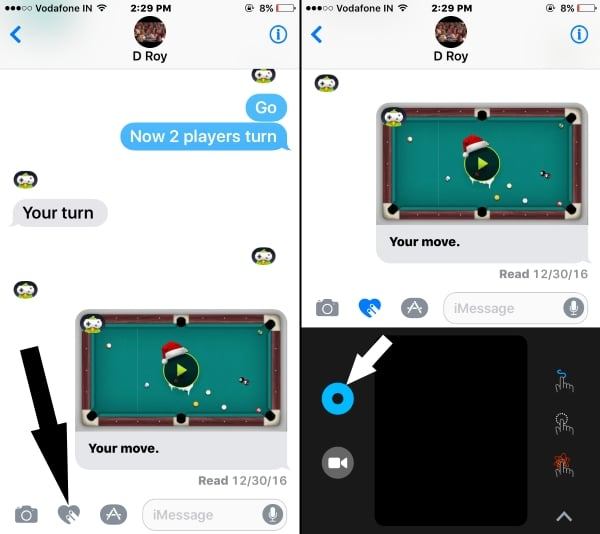 1 Open Draw Canvas in iMessage app conversation (1)