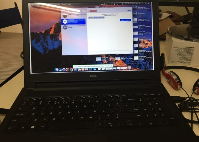 Access or use iMessage on windows PC or Laptop