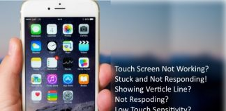 fix iPhone touch screen not working copy image