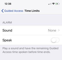 3 Set Time Limits for Guided Access on iPhone