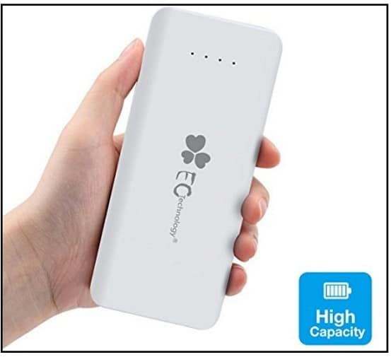 EC technology high capacity power bank for iPhone 7