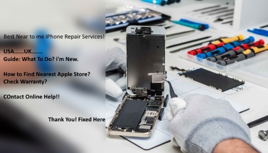 Best iPhone repair near me services and guide small