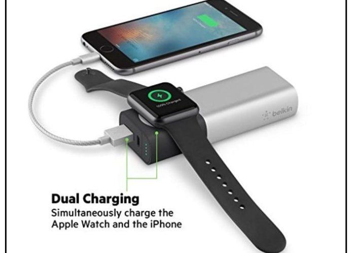Belkin 6700mAh power juice pack for Apple Watch series 2