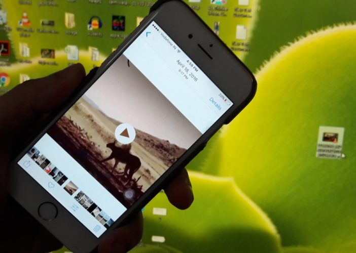 manage video between iPhone and Windows