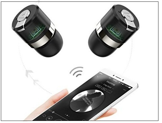 Cool AXGIO in-ear car headset the Apple Airpods Alternatives