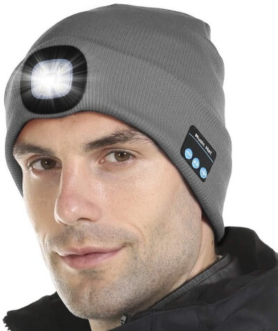 Attikee Upgraded Bluetooth Beanie Hat